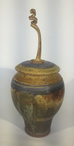 Twisted Lidded Jar 4 02292016
